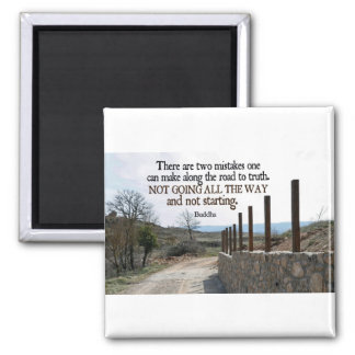Inspirational Quote -- Buddha Magnet