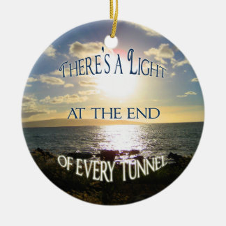 Inspirational Quote Christmas Ornament