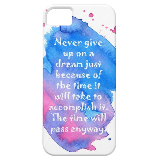 Inspirational Quote iPhone Case