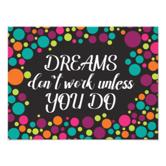 Inspirational Quote Picture Photo Print