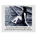 Inspirational quote - poster print