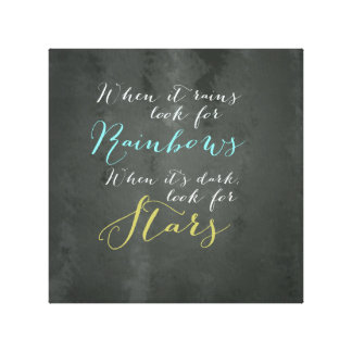 Inspirational Quote Wall Canvas