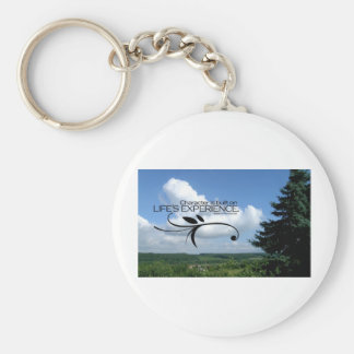 Inspirational Quotes -- Eleanor Roosevelt Basic Round Button Key Ring