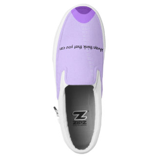 Inspirational Quotes Slip On Shoes Printed Shoes