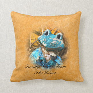 Inspirational Quotes You Are Beautiful Frog Prince Cushion