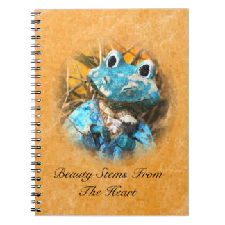 Inspirational Quotes You Are Beautiful Frog Prince Notebooks