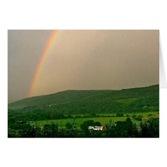 Inspirational Rainbow Scene Card
