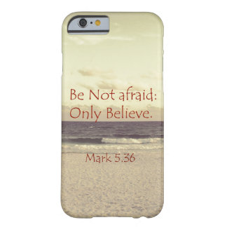 Inspirational Red Letter Bible Verse Barely There iPhone 6 Case