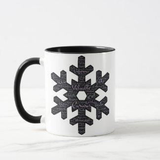 Inspirational Snowflake 11 oz Combo Mug