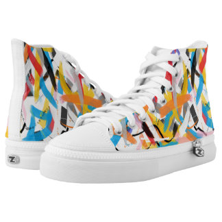 Inspirational Splash of Color Sneakers