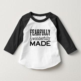 Inspirational Statement in Black Shirt
