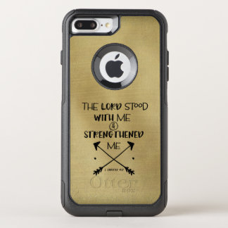 Inspirational Strength Bible Verse OtterBox Commuter iPhone 7 Plus Case