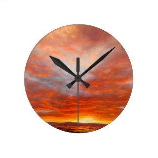 Inspirational Sunrise Clock