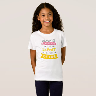 Inspirational The Bright Side of Life Jersey Shirt