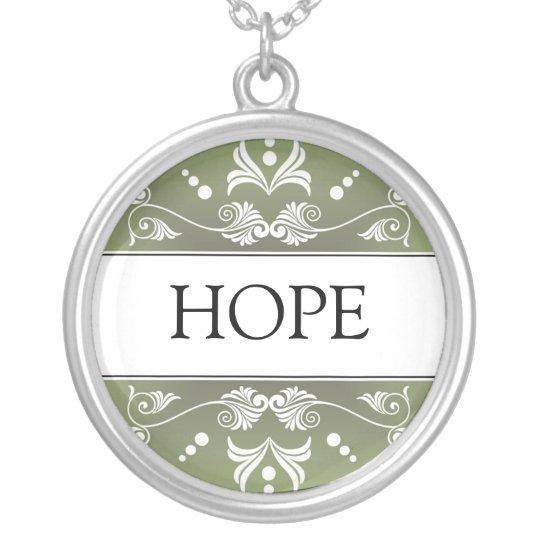 Inspirational Word - HOPE Pendant