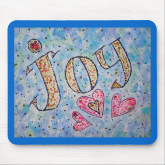 "Inspirational Word ""Joy"" Mousepad"