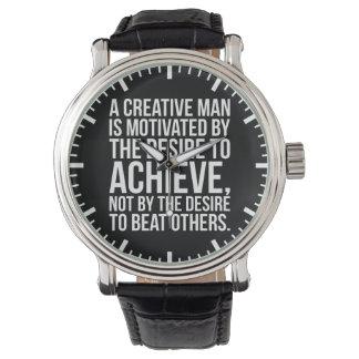 Inspirational Words - Desire To Achieve Watch