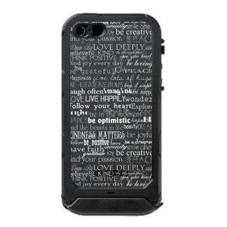 Inspirational Words Incipio ATLAS ID™ iPhone 5 Case