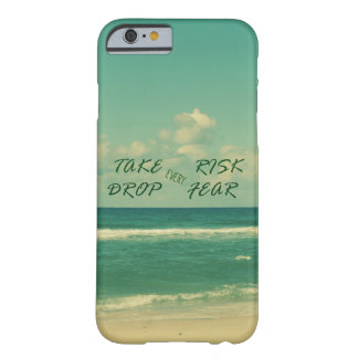 Inspire and Motivate Quotes with Beach Theme Barely There iPhone 6 Case