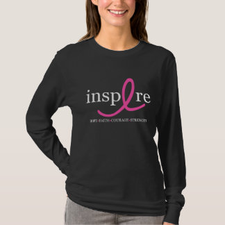 Inspire Breast Cancer Ribbon T-Shirt