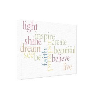 Inspire Faith Canvas Print