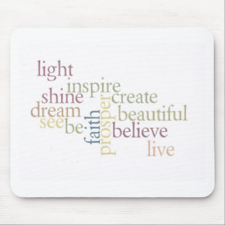 Inspire Faith Mouse Mat