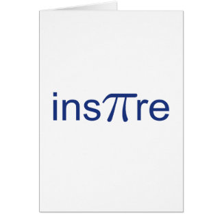 ins'Pi're Greeting Card