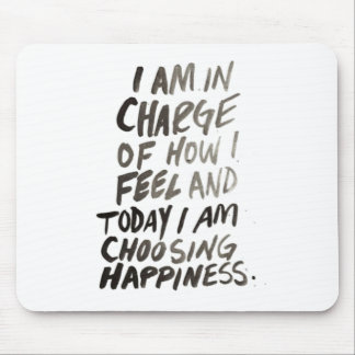 inspire happiness positive popular life mouse pad