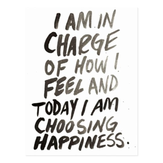 inspire happiness positive popular life postcard