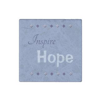 Inspire Hope Marble Magnet