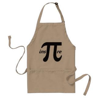 Inspire Inspirational Pi Symbol Standard Apron