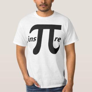 Inspire Inspirational Pi Symbol T-Shirt