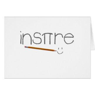 Inspire Math Card