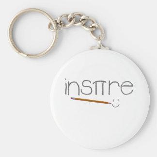 Inspire Math Key Chain