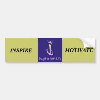 INSPIRE, MOTIVATE BUMPER STICKER CAR BUMPER STICKER