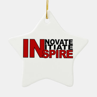 INSPIRE ornament, customize Christmas Ornament