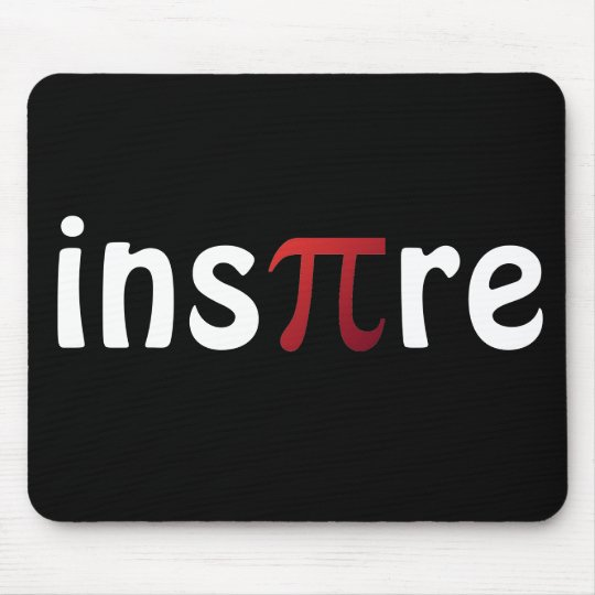 Inspire Pi Day Mathematics Math Geek Mouse Mat