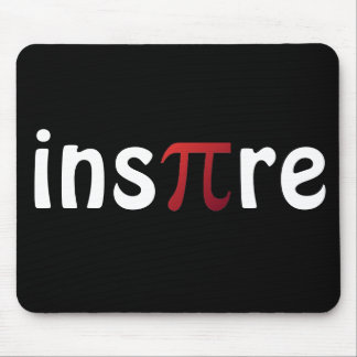 Inspire Pi Day Mathematics Math Geek Mouse Pad