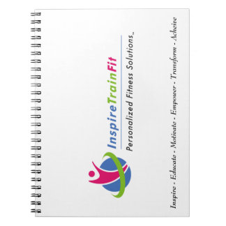 Inspire Train Fit Notebook