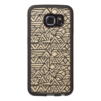 Inspired Artsy Tribal Pattern Wood Phone Case