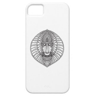 Inspired Baboon Face Barely There iPhone 5 Case