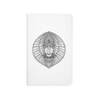 Inspired Baboon Face Journal