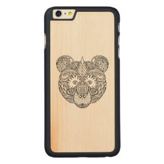 Inspired Bear Carved Maple iPhone 6 Plus Case