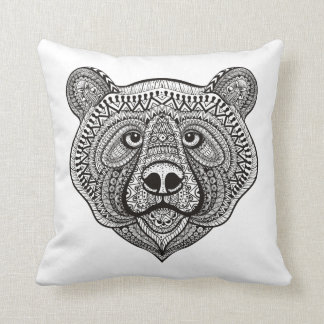 Inspired Bear Face Cushion