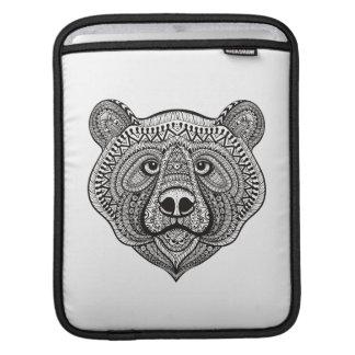 Inspired Bear Face iPad Sleeve