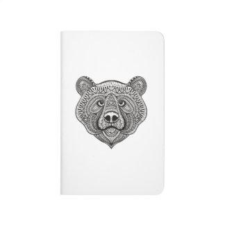 Inspired Bear Face Journal