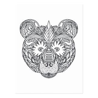 Inspired Bear Postcard
