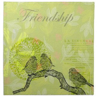 Inspired Birds Printed Napkin