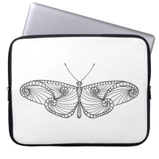 Inspired Butterfly Art Laptop Sleeve