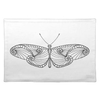 Inspired Butterfly Art Placemat